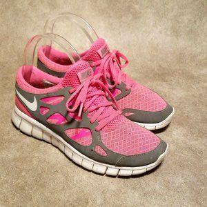 Nike Womens Free Run 2 443816-610 Sz 6.5 M Pink